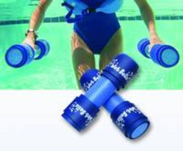 Aquatic fitness and water fitness are fantastic low